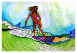 Surf Art by Brent February #24