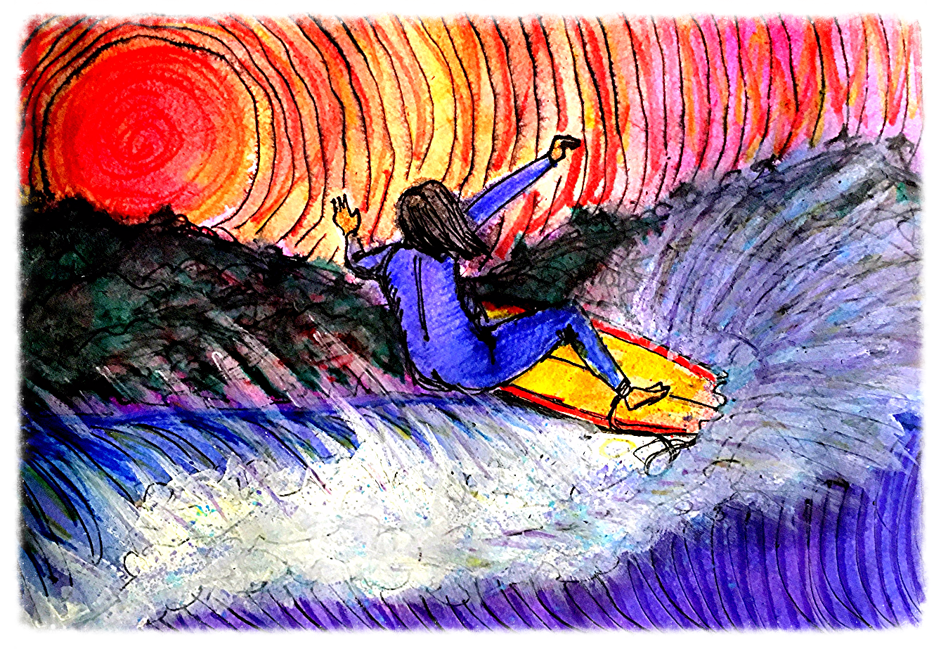 Surf Art  by Brent January #26