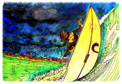 Surf Art  by Brent January #11