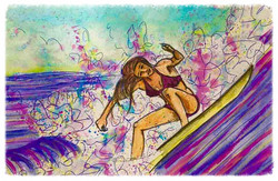 Surf Art by Brent March #12