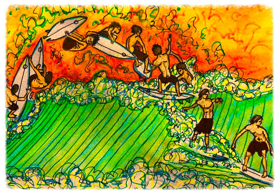 Surf Art by Brent April #25 2016