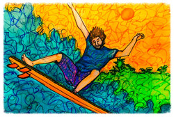 Surf Art by Brent April #20 2016
