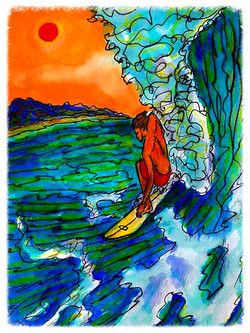 Surf Art by Brent February #19