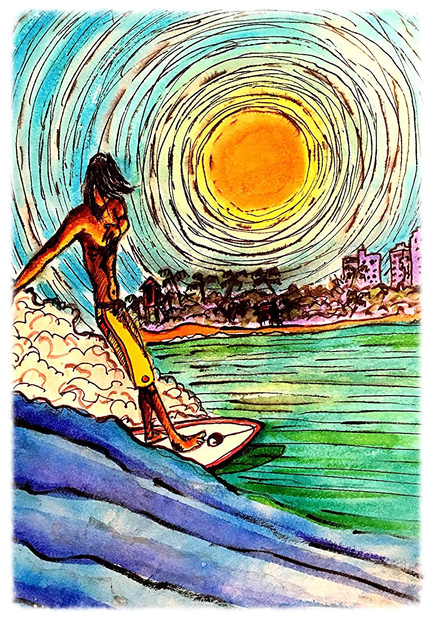 Surf Art  by Brent January #15
