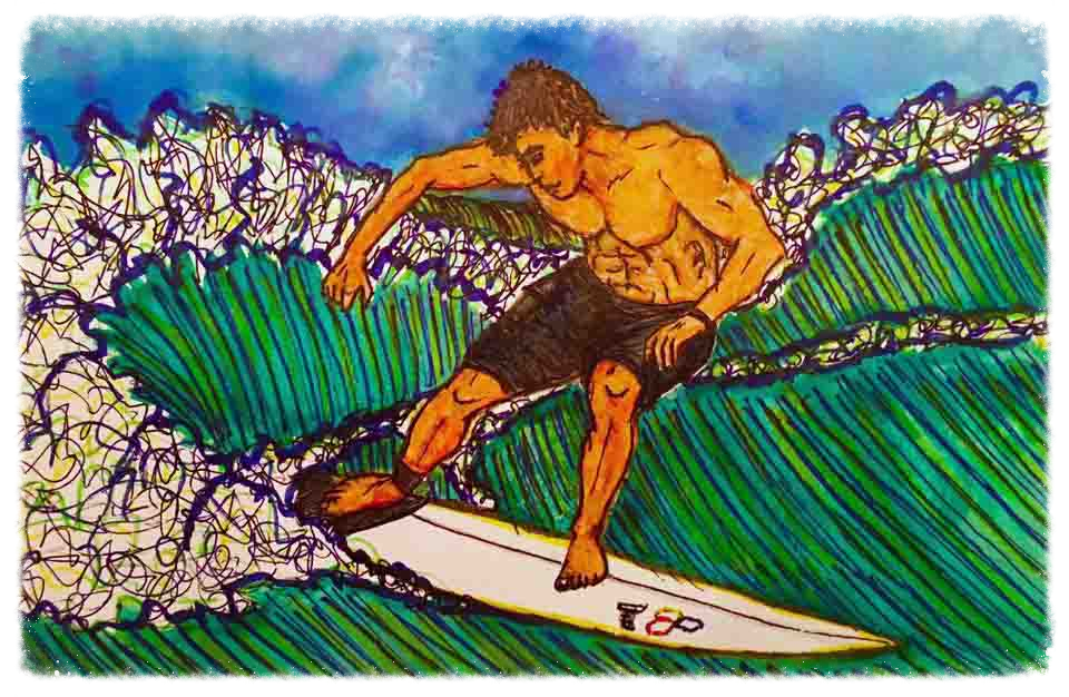 Surf Art by Brent March #16