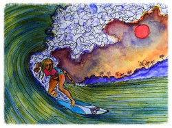 Surf Art by Brent February #20