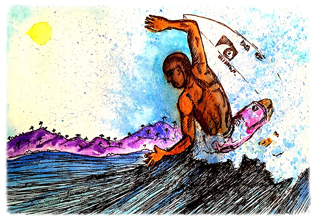 Surf Art  by Brent January #16