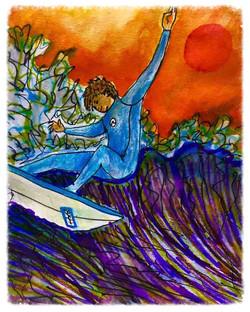 Surf Art by Brent April #3 2016