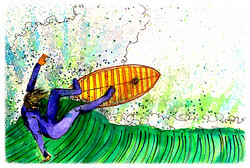 Surf Art  by Brent January #17