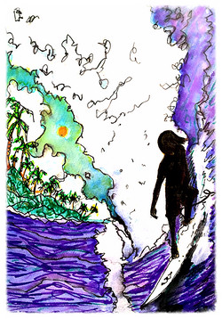 Surf Art  by Brent January #19