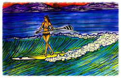 Surf Art by Brent March #19