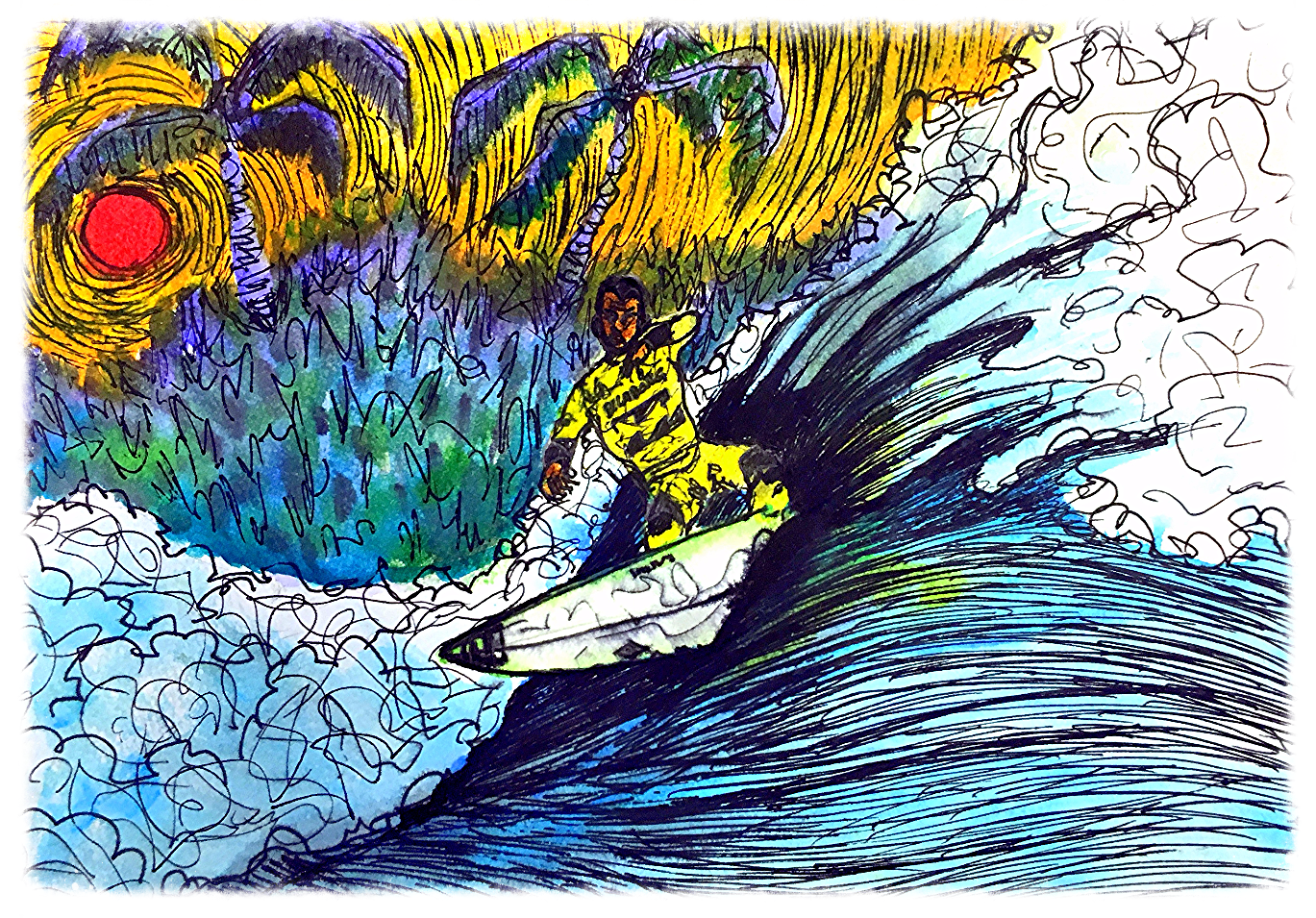 Surf Art  by Brent January #1