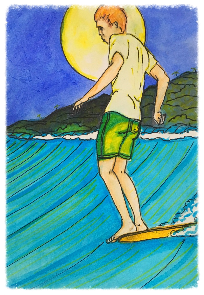 Surf Art by Brent April #9 2016