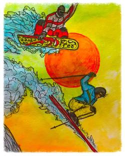 Surf Art by Brent April #31 2016