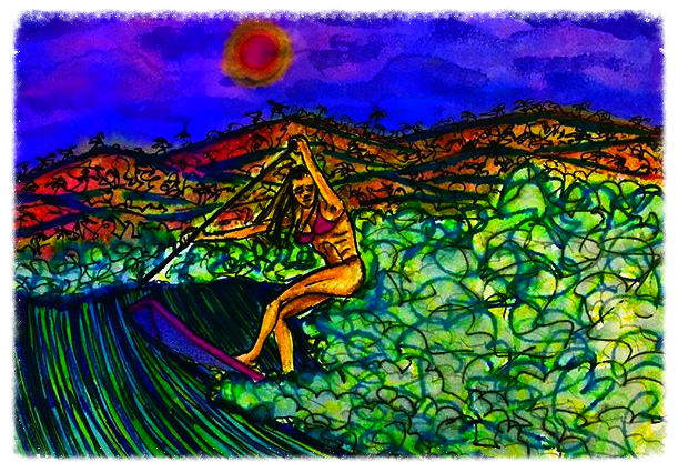 Surf Art by Brent February #18