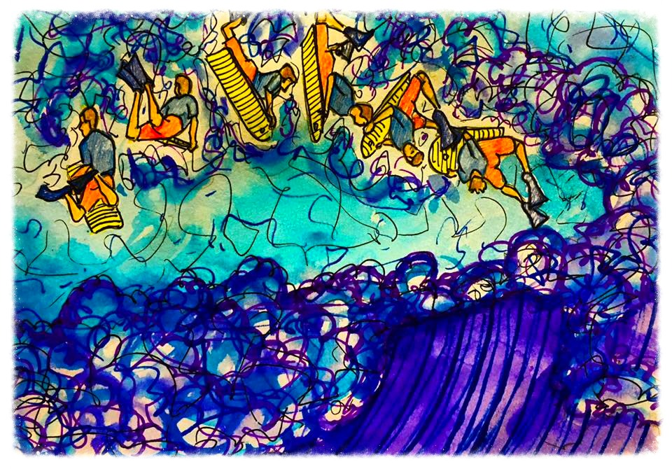 Surf Art by Brent April #26 2016