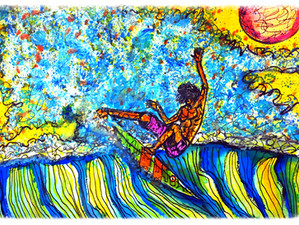 SURF Art by Brent at the WPB Armory Opening tonight 6-8pm