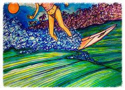 Surf Art by Brent March #10