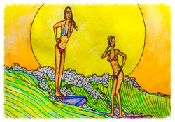 Surf Art by Brent March #7