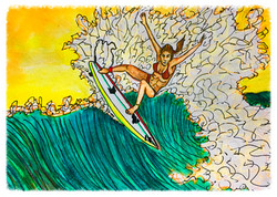 Surf Art by Brent March #9
