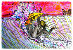 Surf Art by Brent January #4