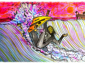 Surf Art by Brent