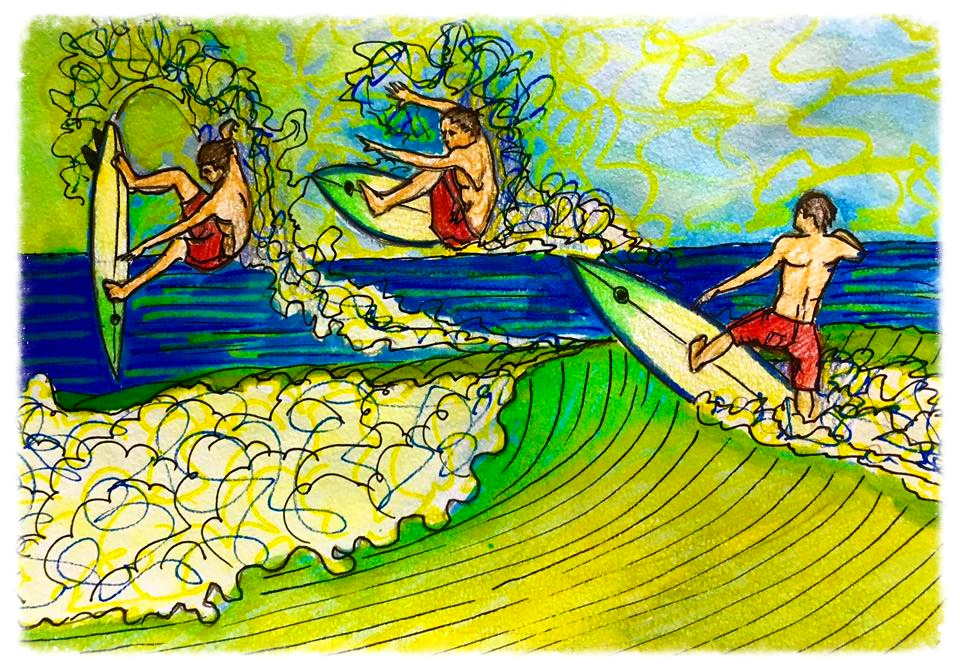 Surf Art by Brent April #28 2016