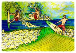 Surf Art by Brent April #28 2016