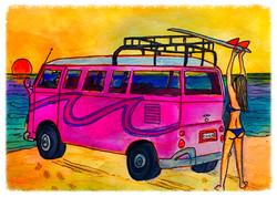 Surf Art by Brent April #12 2016