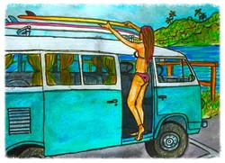Surf Art by Brent April #11 2016