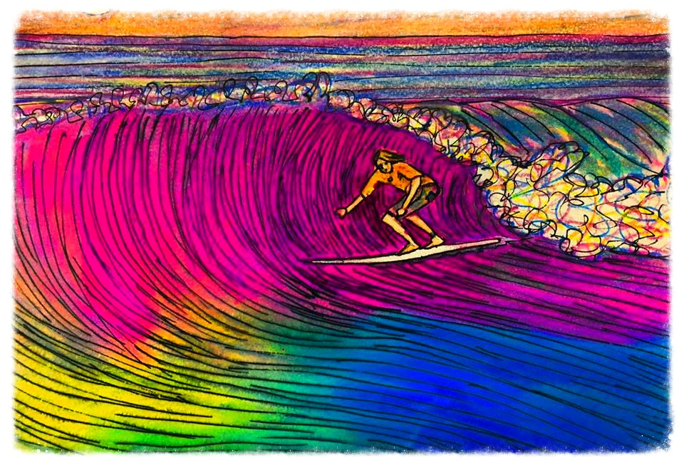 Surf Art by Brent April #21 2016
