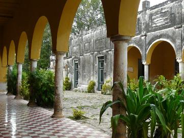 Испанская фасьенда на полуострове Юкатан