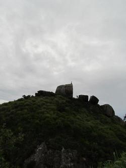 ponto MAIS alto da Pedra da Gavea.