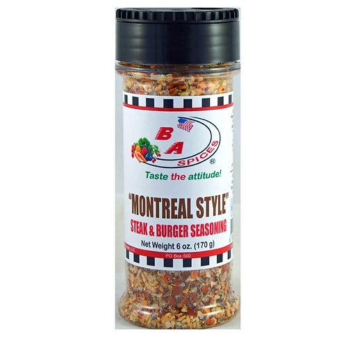 Montreal Style Steak & Burger Seasoning