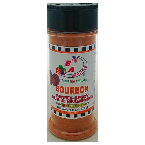 Bourbon Sweet-Spicy Rub & Seasoning
