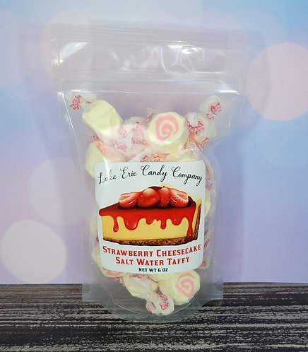 Strawberry Cheesecake Salt Water Taffy