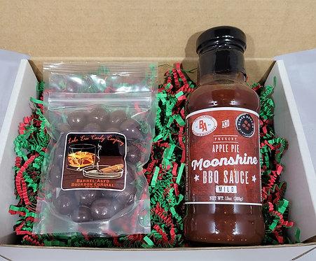 Apple Pie Moonshine & Barrel-Aged Bourbon Cordials