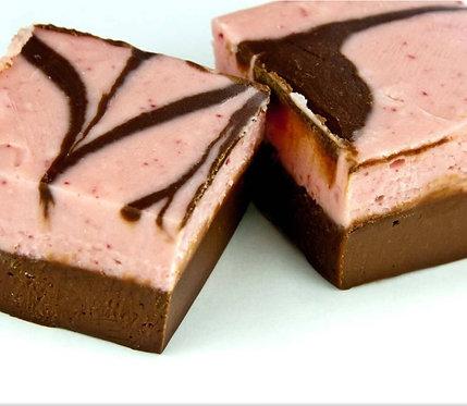 Raspberry Chocolate Fudge - 8 oz.
