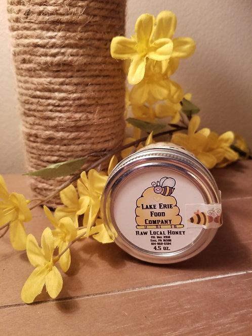 Local Raw Honey - 4.5 oz.