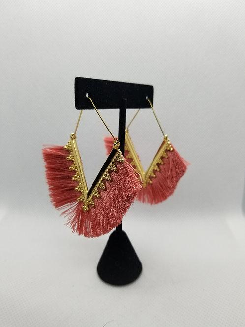 Fringe & Gold earrings