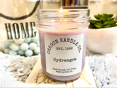 Hydrangea Oregon Kandle