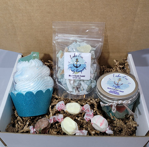 Beach Glass Gift Set