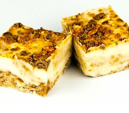 Vanilla Fudge with Butterfinger- 8 oz.