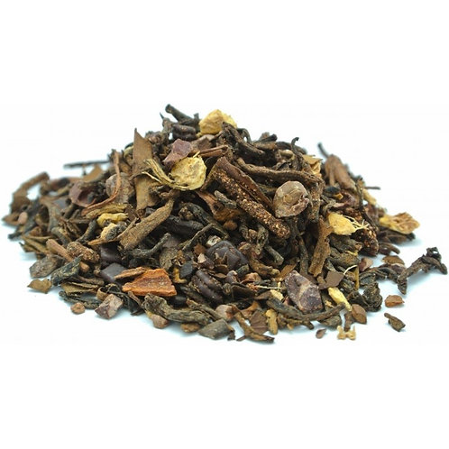 Chocolate Ginger Bourbon Loose Leaf Tea - 2 oz