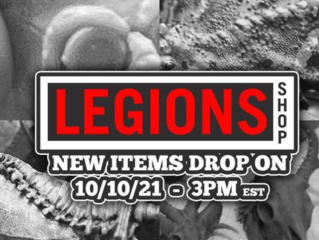 LegionsShop October Drop Next Week!