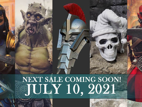 Details on our July 10th Sale!