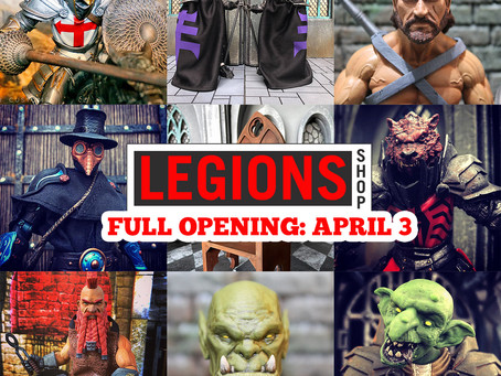 Store Opening Fully on April 3rd!
