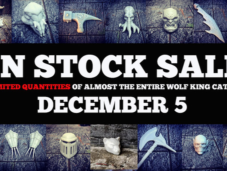 In Stock Sale - December 5