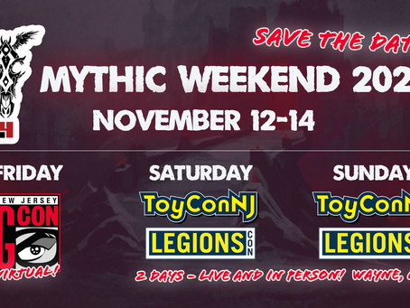 Orders Shipped - New Sale News - and Mythic Weekend!