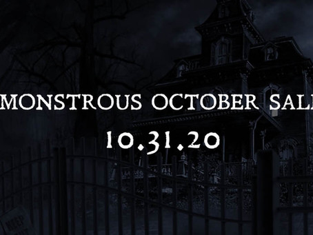October is Going to be MONSTROUS!